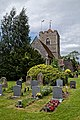 Church of St Andrew's, Boreham, Essex - churchyard at the northeast.jpg