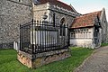 Church of St Mary Matching Essex England - fenced external table tomb.jpg