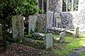 Church of St Mary the Virgin, Woodnesborough, Kent - barrel tombs.jpg