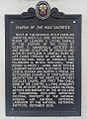 Church of the Holy Sacrifice NHCP historical Marker English (2015 edition).jpg