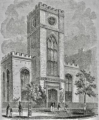 Church of the Messiah (Manhattan) - The congregation's second church