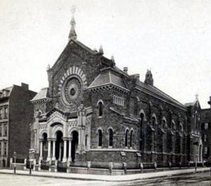 Church of the Messiah (Manhattan) - The congregation's third church