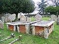 Churchyard, St Georges Church - geograph.org.uk - 1748701.jpg