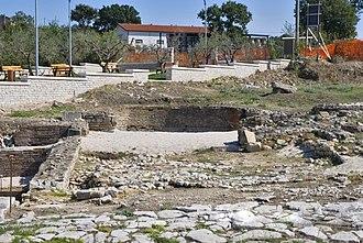 Ligures Baebiani - The archaeological area in the Macchia district of Circello
