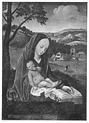 Circle of Joachim Patinir - Madonna and Child in a Landscape.jpg