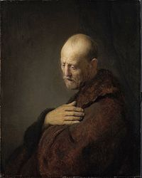 Circle of Rembrandt - Old Man in Prayer.jpg