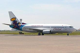 Citilink - Citilink Boeing 737-300 at Juanda International Airport in 2005
