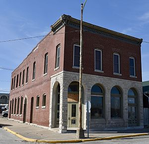 National Register of Historic Places listings in Pike County, Missouri - Image: City Market Louisiana, Missouri