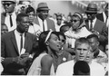Civil Rights March on Washington, D.C. (Former National Basketball Association player, Bill Russell.) - NARA - 542073.tif