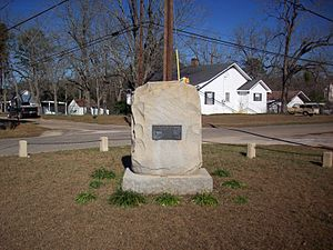 Newton, Alabama - Civil War Monument in Newton, Alabama