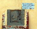 Civitella in val di chiana, palazzo pretorio, stemma pucci e iscrizione puccini (1542-43).jpg