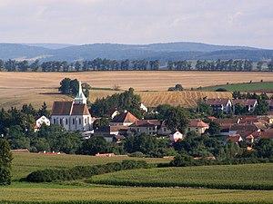 Horácko - Cizkrajov - example of Horácko landscape