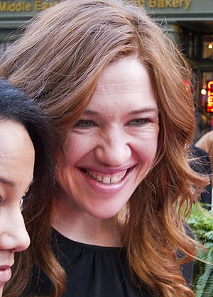 Clara Hughes on Walk of Fame 2.jpg