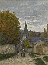 Claude Monet - Street in Sainte-Adresse (1867).jpg