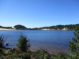 Jessie M. Honeyman Memorial State Park - Image: Cleawox Lake, Oct