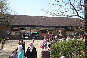 Cleveland Metroparks Zoo - Cleveland Metroparks Zoo Entrance