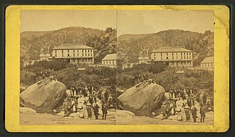 Cliff House (Manitou Springs, Colorado) - Image: Cliff House, Manitou Park, Colorado, from Robert N. Dennis collection of stereoscopic views
