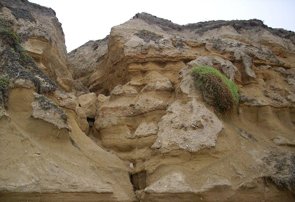 Cliffs half moon bay