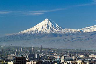 Mount Ararat - Closeup of Lesser Ararat