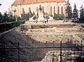 Cluj-Napoca castrul roman Piata Unirii 01 (2003).jpg