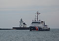Coast Guard Cutter Morro Bay sails into Cleveland Harbor 130616-G-VH840-184.jpg