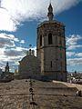 Cobertes de la catedral de València i Micalet.JPG