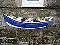 Coble fishing boat planter, Boulby - geograph.org.uk - 1626138.jpg