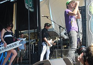 Cobra Starship - Cobra Starship performing at Warped Tour on June 20, 2008