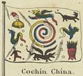 Cochin China. Johnson's new chart of national emblems, 1868.jpg