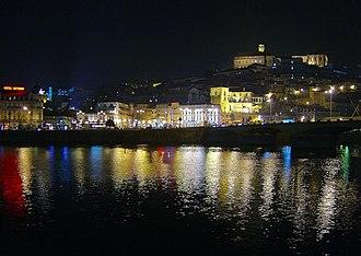 Mondego River - Image: Coimbra à noite