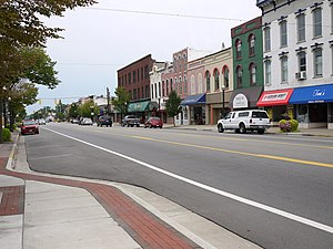 Coldwater, Michigan - Down town Coldwater.