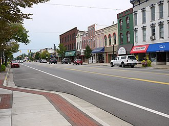National Register of Historic Places listings in Branch County, Michigan - Image: Coldwater Downtown Historic District 5