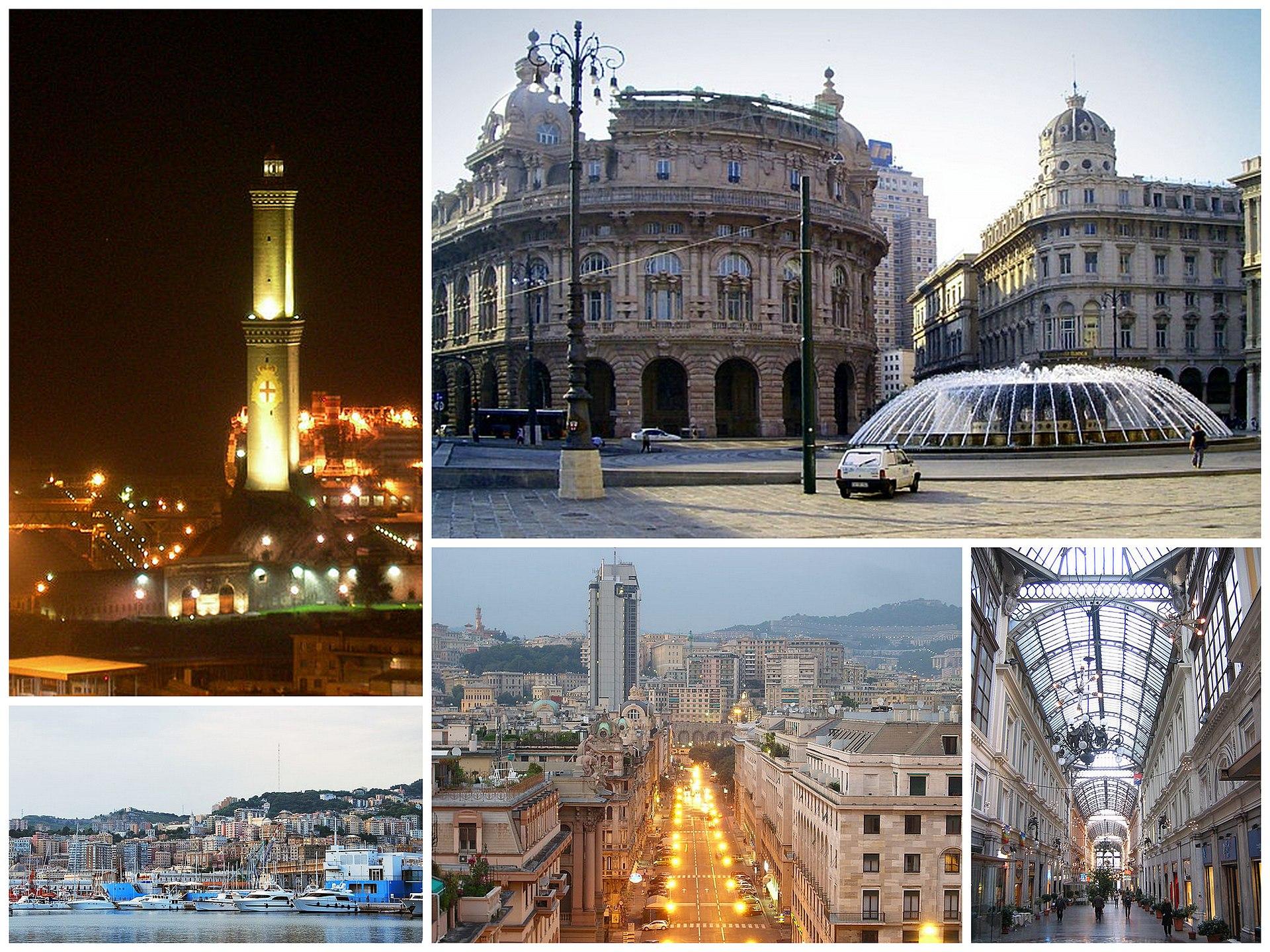 Genova italy zip code
