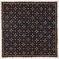 Collectie NMvWereldculturen, RV-847-1, Batikpatroon, 'Stofstaal met Nagasari patroon', voor 1891.jpg