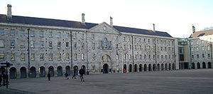 Collins Barracks, Dublin - The main barracks square of Collins Barracks
