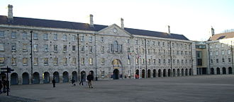 National Museum of Ireland - Main courtyard of Collins Barracks