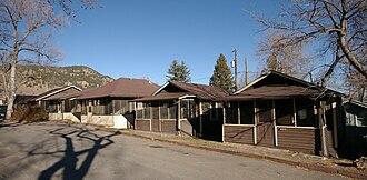 Colorado Chautauqua - A couple of the cabins at Chautauqua