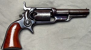 Colt Model 1855 Sidehammer Pocket Revolver - Colt Root 1855 Revolver, Model 7, cal .31