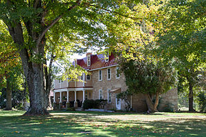 National Register of Historic Places listings in Greene County, Pennsylvania - Image: Colver Rogers Farmstead