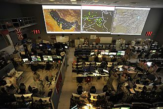 Combined Air and Space Operations Center (CAOC) at Al Udeid Air Base in Qatar, 2015 Combined Air Operations Center 151007-F-MS415-022.jpg