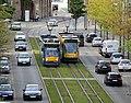 Combino trams in Nordhausen - 2015.JPG