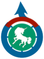 Commons at Wikimedia labs logo - Saibo.png
