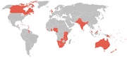 Countries and places competing at the games