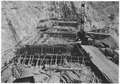 Concreting operations in weir foundation at Nevada Spillway - NARA - 293822.tif