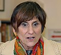 Congresswoman Rosa L. DeLauro speaks during Secretary Vilsack's visit to the Henry A. Wolcott Elementary School in West Hartford, Connecticut (cropped).jpg