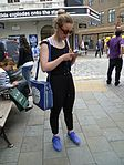 Consulting a smartphone, Seven Dials.jpg