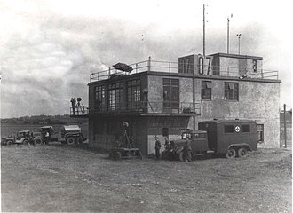 RAF Tempsford - The Control Tower at Tempsford during the Second World War