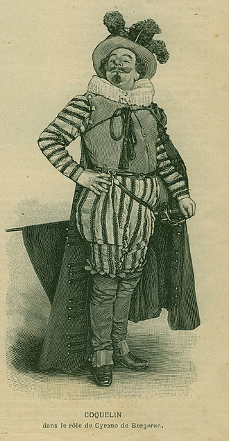 Cyrano de Bergerac (play) - Benoît-Constant Coquelin created the role of Cyrano de Bergerac (1897)