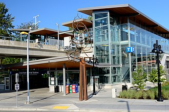 Coquitlam Central station - Image: Coquitlam Central Station Exterior