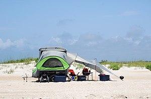 Popup camper - Modern flip-out camper